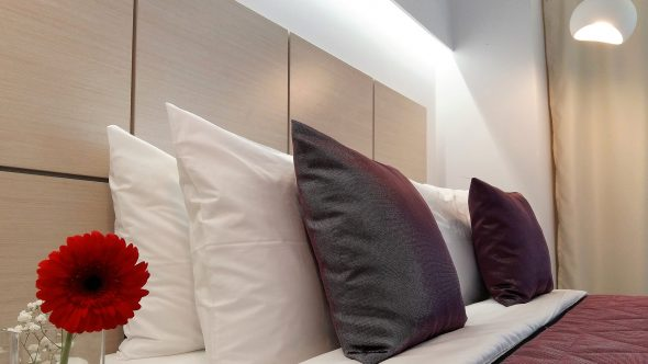 The Classic Double Room in Akrogiali Hotel in Halkidiki